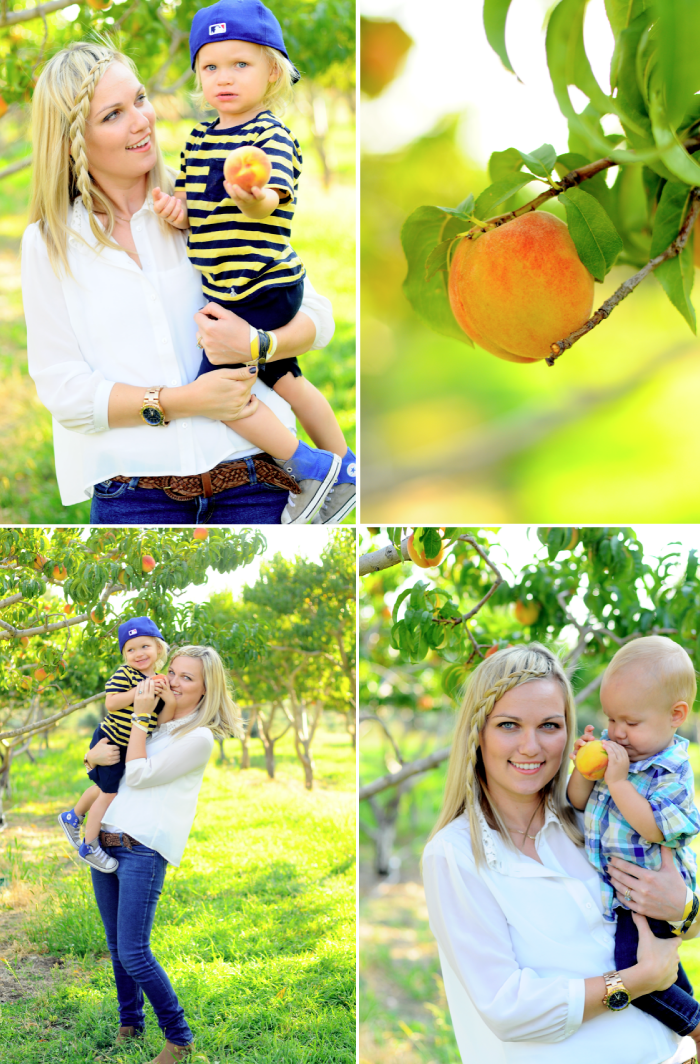 Peach Picking Emily