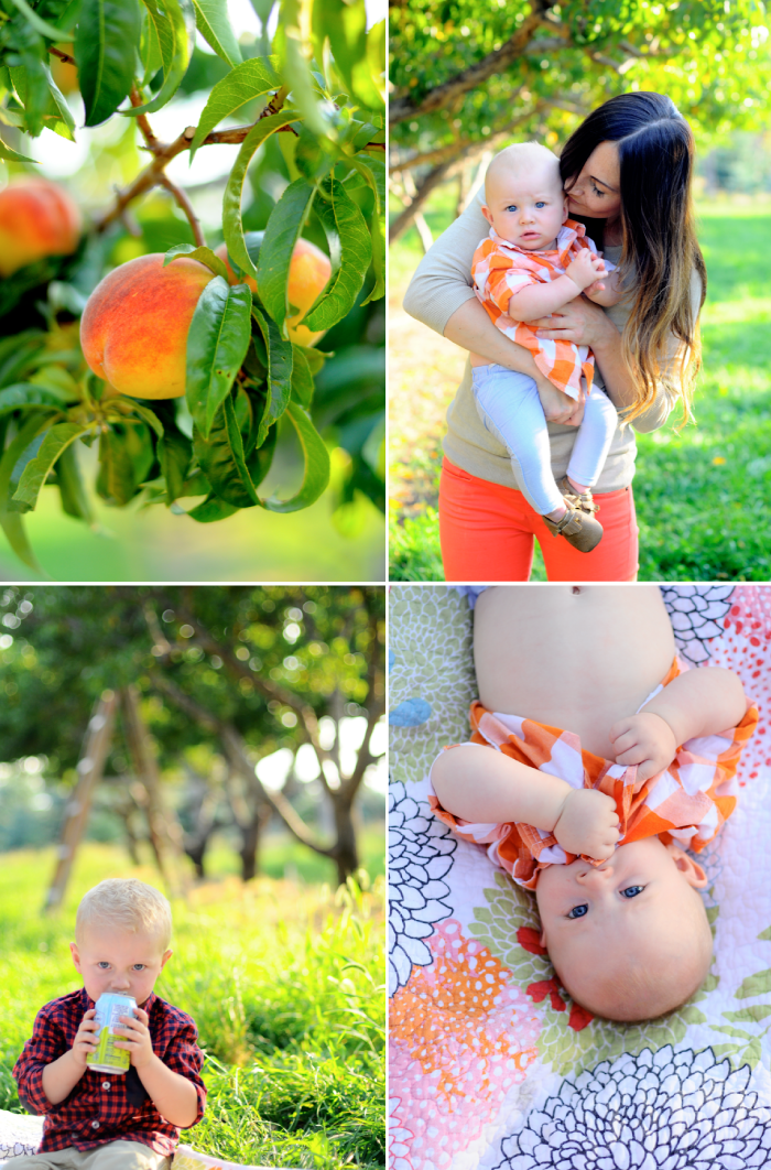 Peach Picking Nicole
