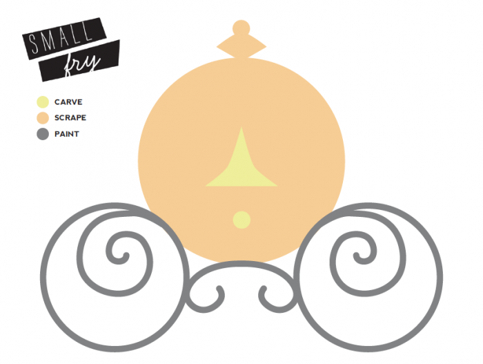 Pumpkin Carriage Template