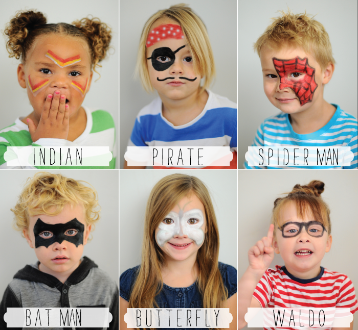 Easy Facepainting Ideas