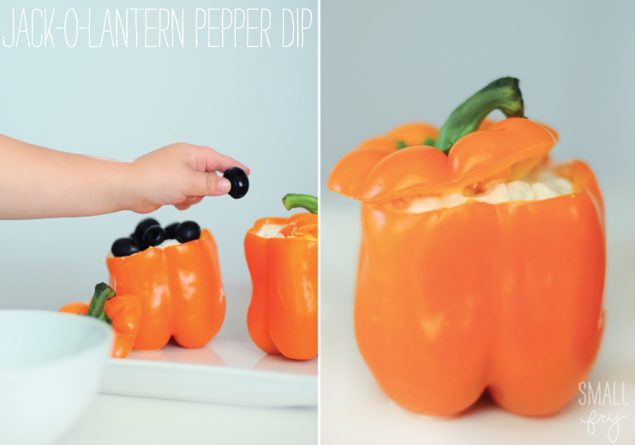 Jack-o-lantern Pepper Dip