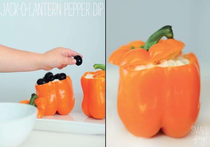 Jack-o-lantern Pepper Dip