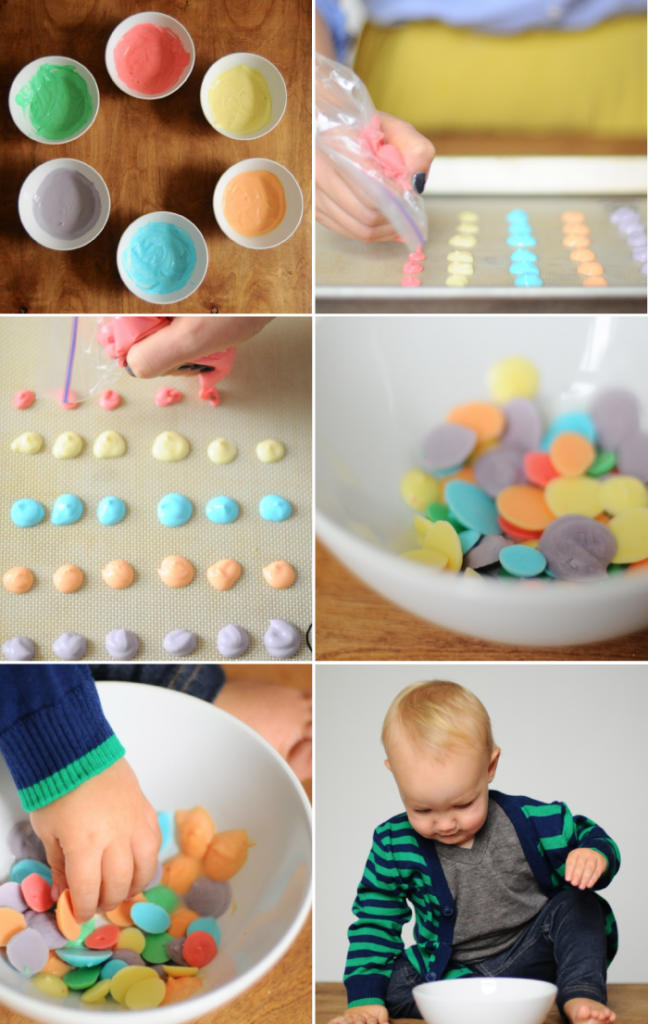 Frozen Yogurt Dots