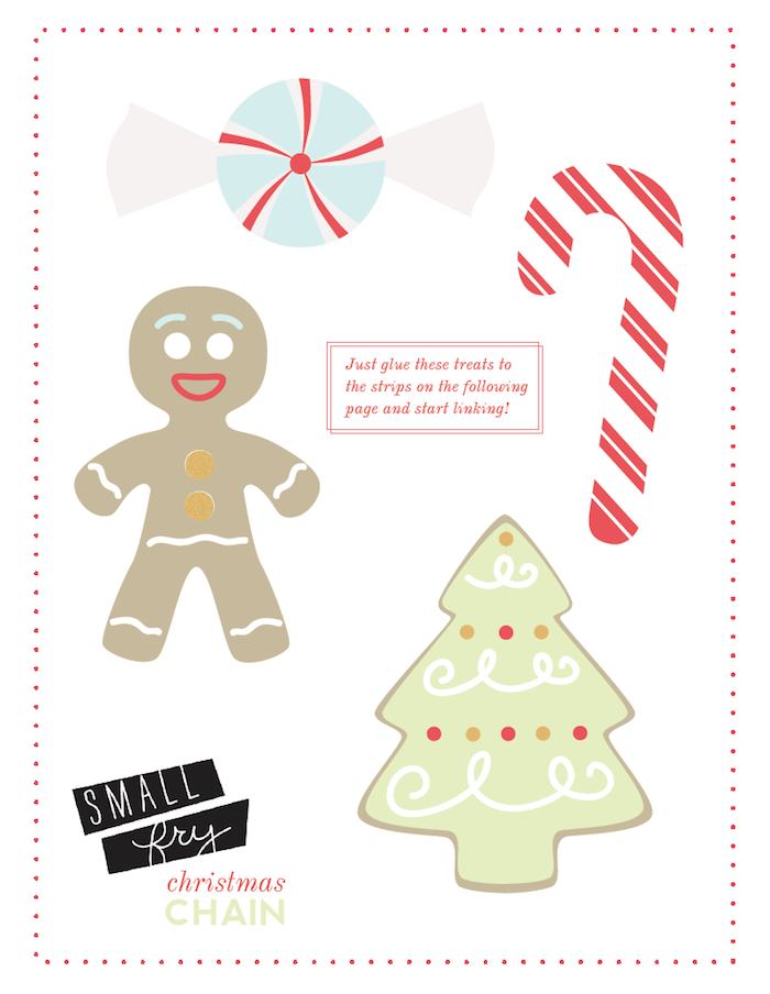 Christmas Countdown Printable 1