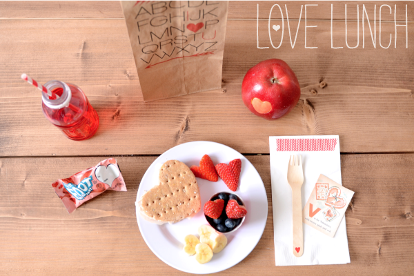 valentines, DIY, printable, lunch, kids crafts