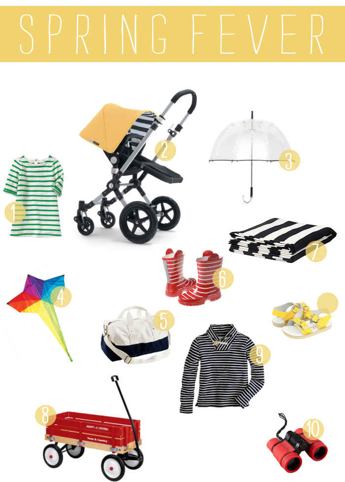 spring, bugaboo, radio flyer, salt waters,