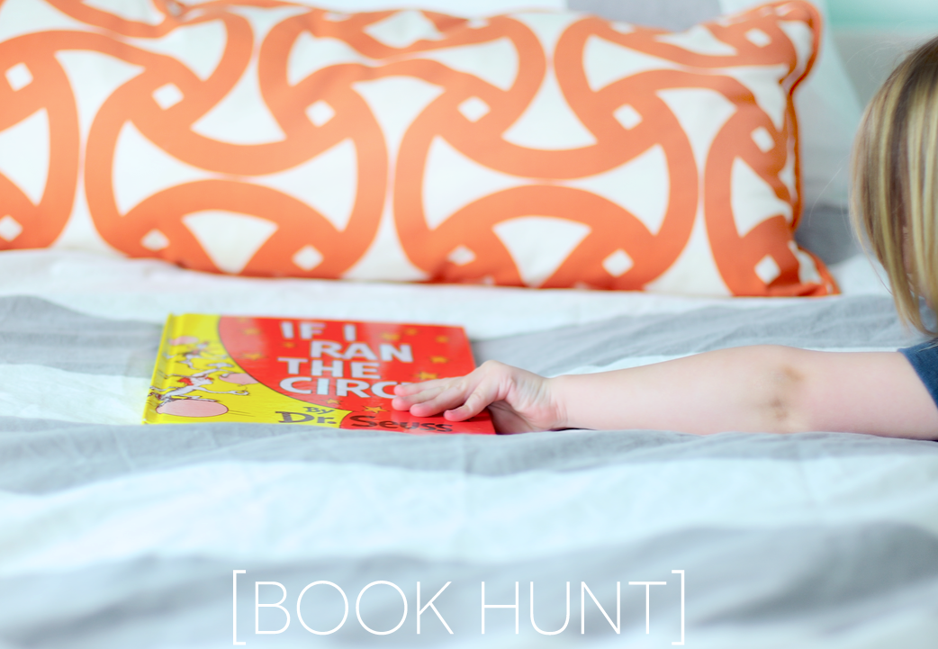 unplugged: library book hunt