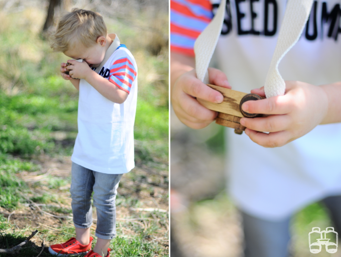 nature, hike, twig, wooden toys, kids, outdoors