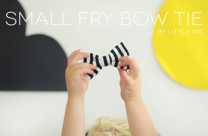 Small Fry Bow Tie | By Little. Mr