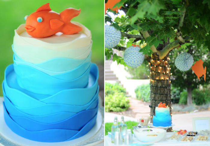 little fish birthday party