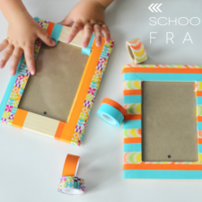 school year frames | michaels washi tape