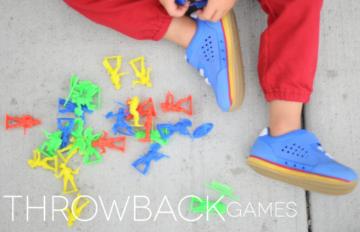 throw back games for kids