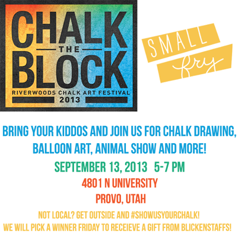 chalk the block