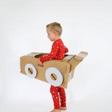 flatout frankie cardboard toys & skylar luna pjs