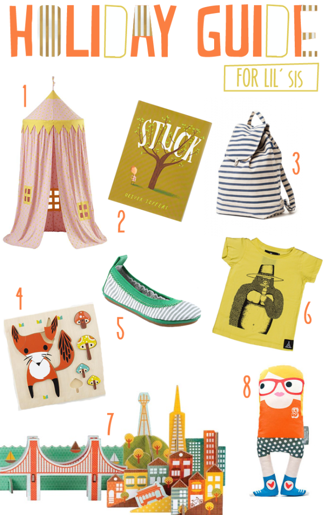 holiday gift guide for your little girl