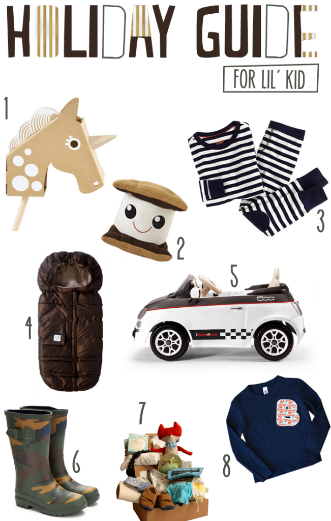 holiday gift guide for your little boy