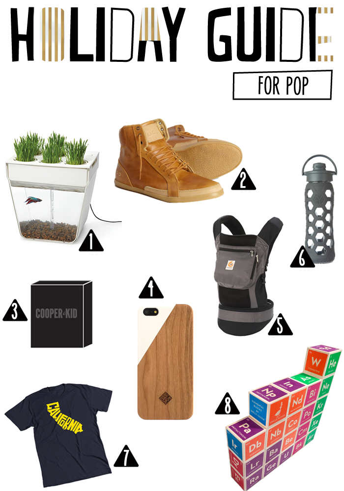 holiday gift guide for pop