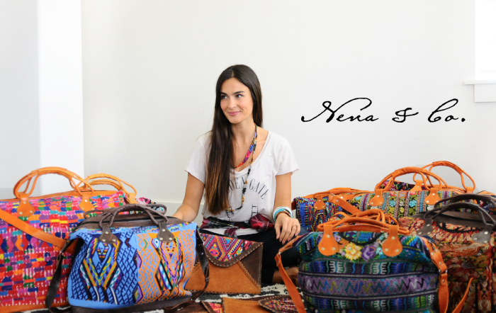 Nena & Co bags from Guatemala