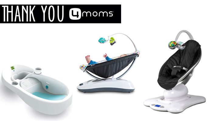 4 moms donates MamaRoos & Bathtubs to NICU parents