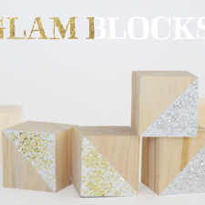 glam christmas blocks