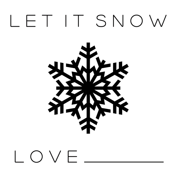 let it snow neighbor gift