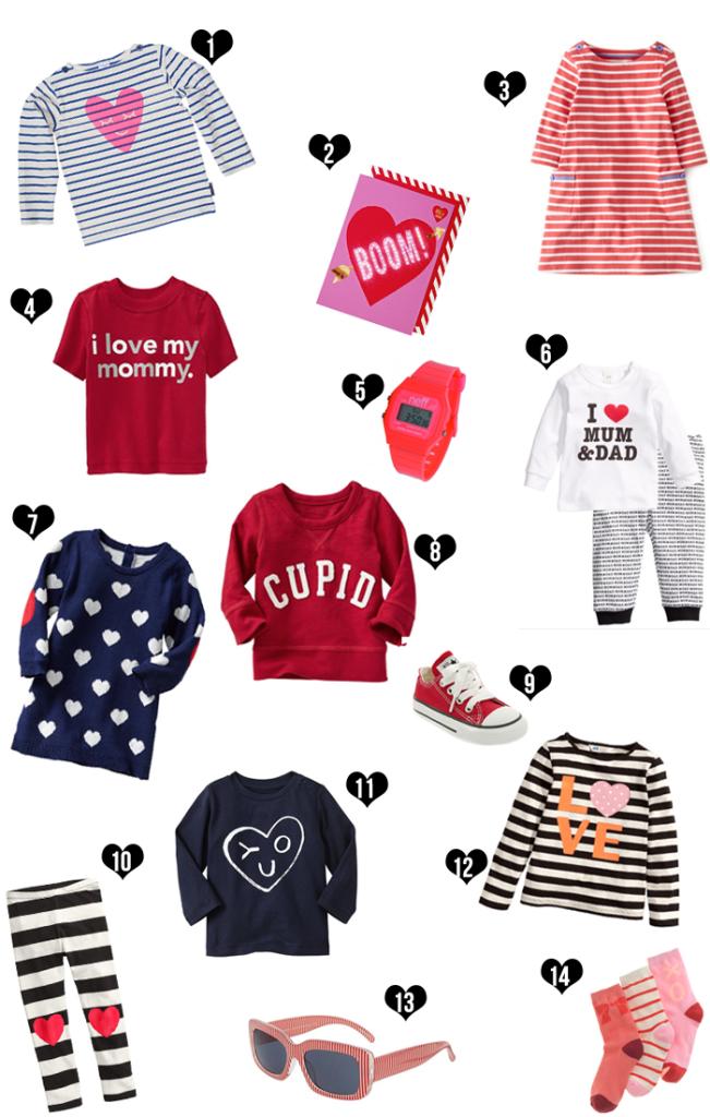 valentine love duds