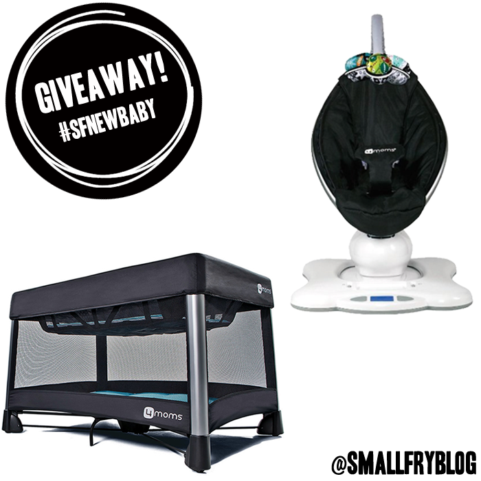 4 moms + Small Fry Giveaway