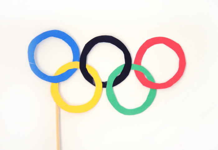 Olympic Glasses DIY