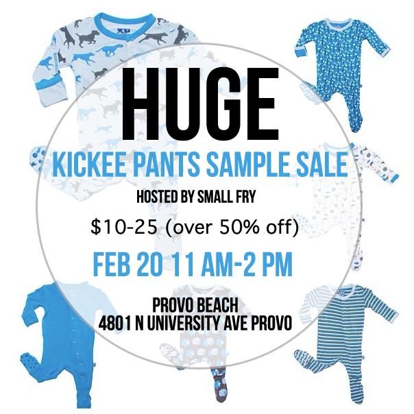 Kickee Pants Sample Sale