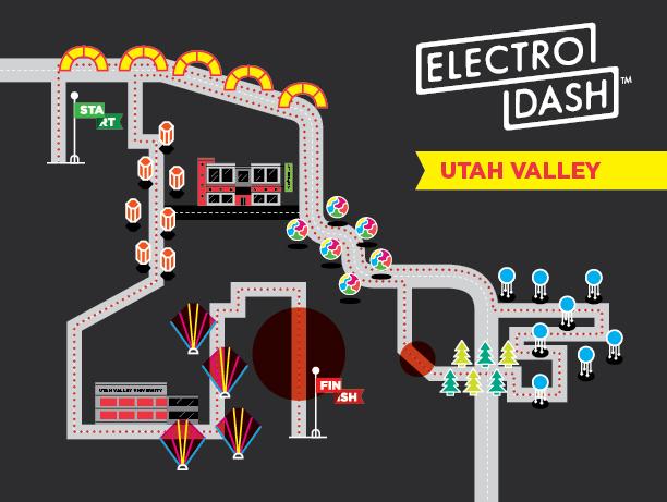 ElectroDash 5K Course