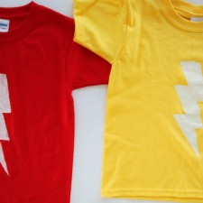 Lightning Bolt Shirt DIY
