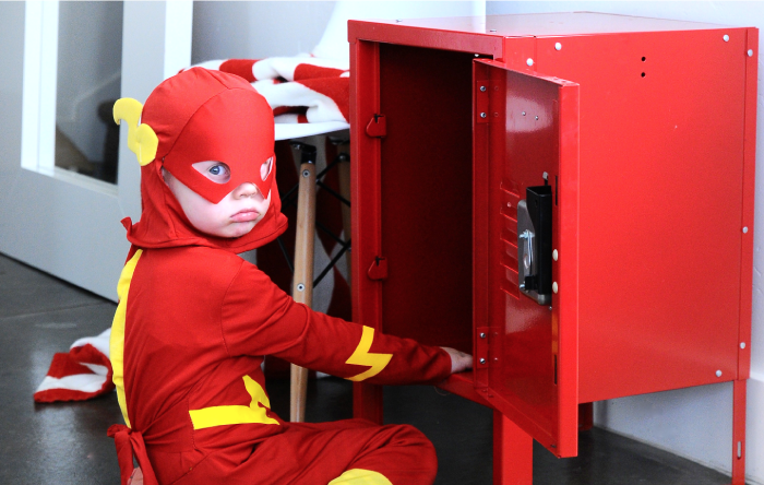 Super Hero Costume Locker