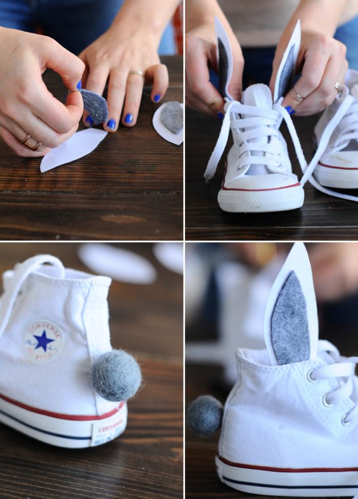 Bunny Shoes DIY