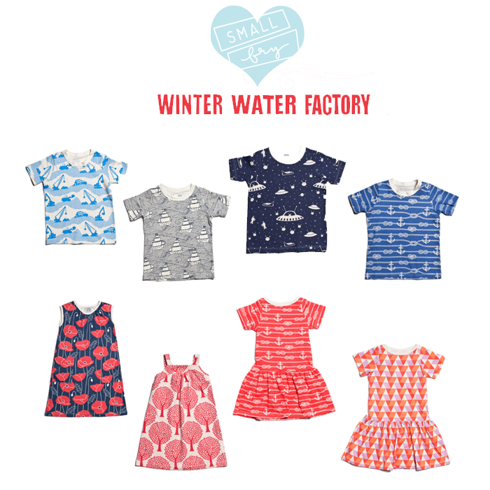 winter water kids line