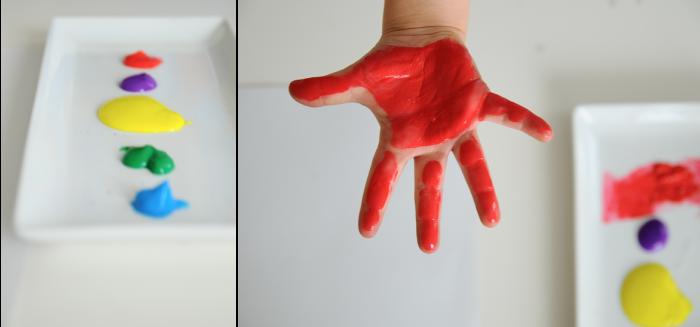 Handprint Flower - Mother's Day