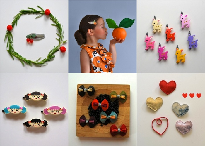 [hello shiso] girls hair accessories