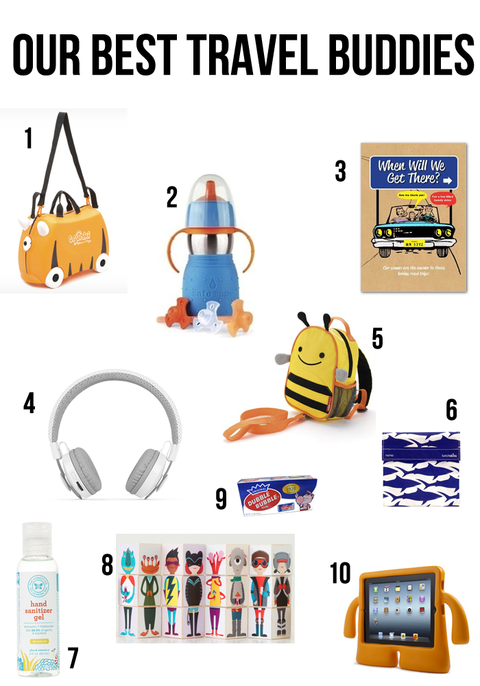 essential items for your child's traveling!