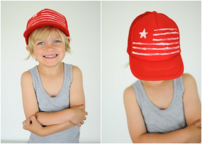 Flag Hat DIY
