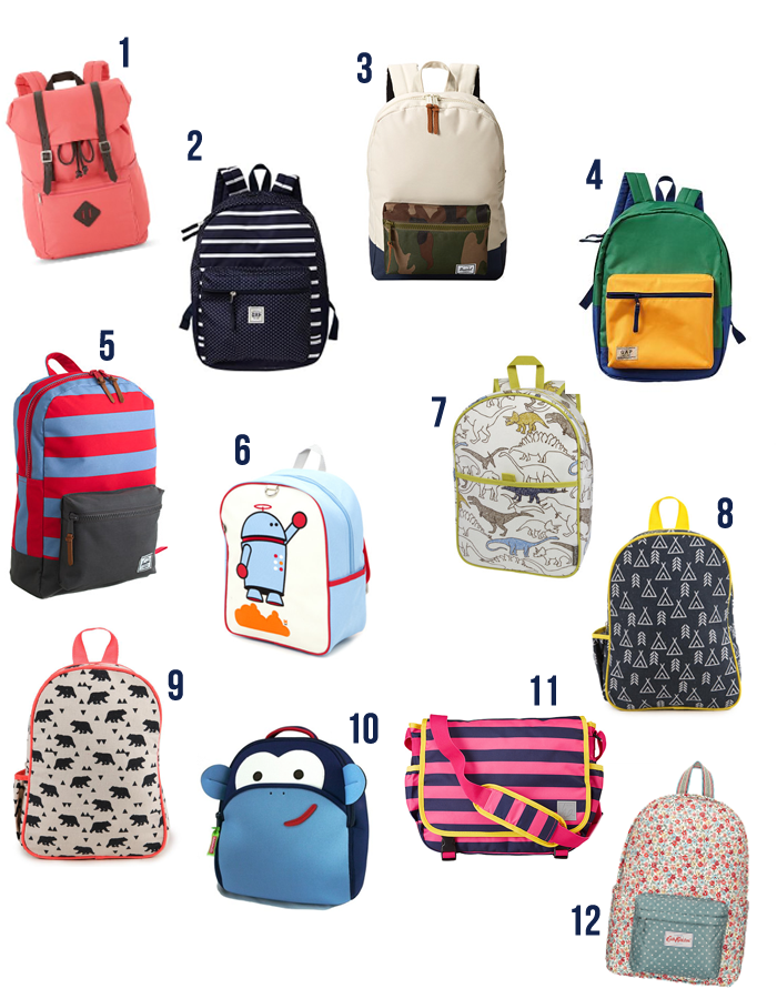 Back to School Fashion Week: Backpacks! | Small Fry