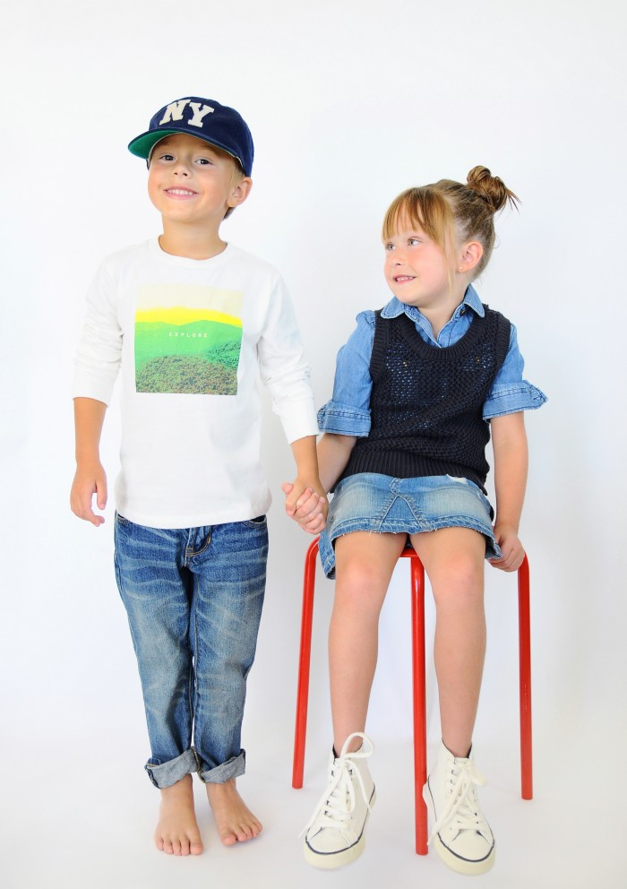 Individuality with Gap Kids