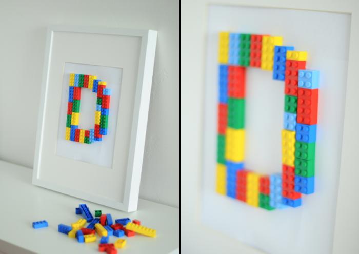 Lego Initial Art