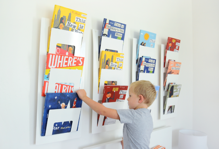 Ikea Hack: Book Rack