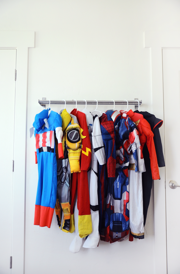 Ikea Hack - Costume Rack
