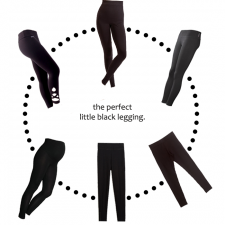 the perfect little black legging --GIVEAWAY
