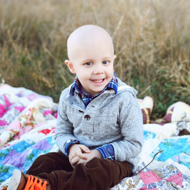 Beckham : Childhood Cancer Awareness Month