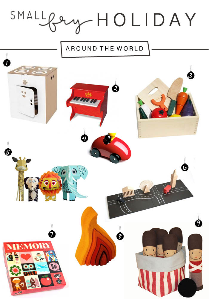 holiday gift guide: toys around the world