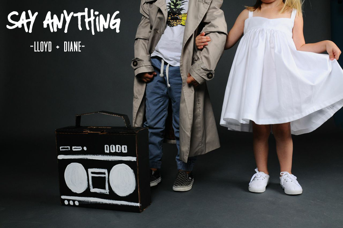 say anything kid's halloween costumesay anything kid's halloween costume