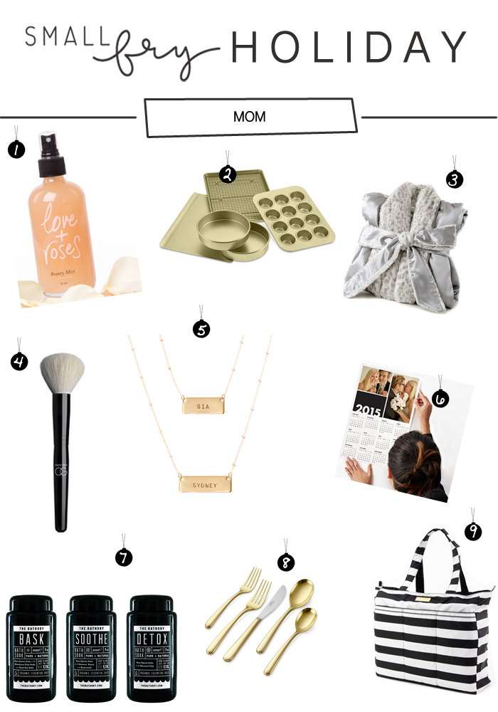 holiday gift guide for mom