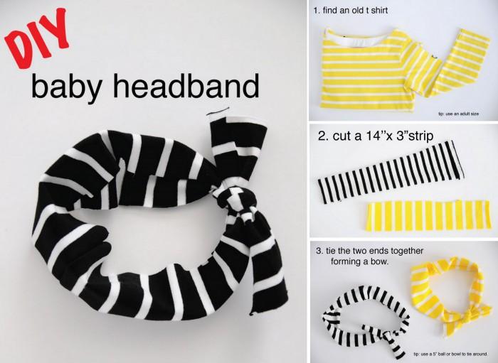DIY Baby Headband