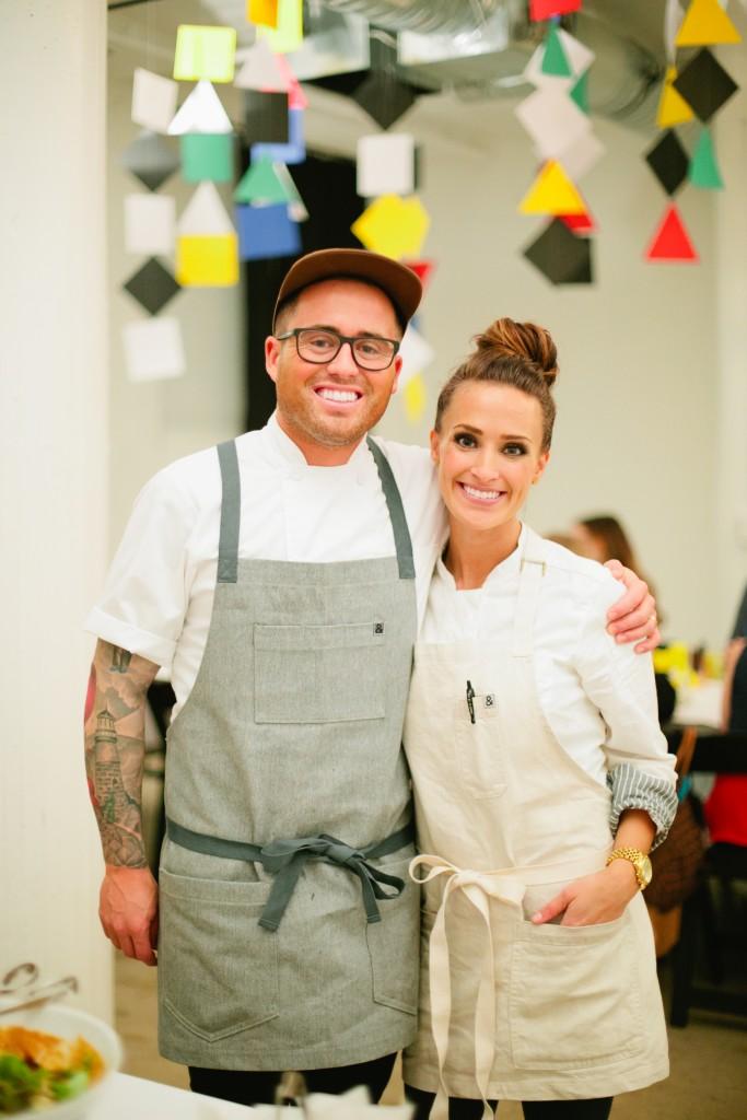 Private Chef Aubrey Niccoli & Husband Executive Chef Marco Niccoli of Culinary Crafts